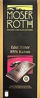 Шоколад черный  Moser Roth Edel Bitter 85% какао Германия 125 г