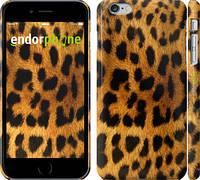 """Чехол на iPhone 6 Plus Шкура леопарда """"238c-48"""""""