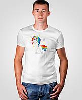 Футболка Мальта 18М063-17-Р Unicorn G1 Белая (2901000180007)
