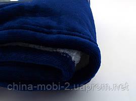 Blanket Hoodie Huggla плед с капюшоном толстовка синяя, фото 3