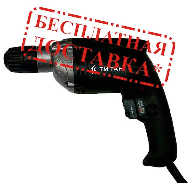 Купить Дрель безударная ТИТАН ПД500РЕ, Титан