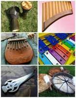 Музыкальные инструменты: Варга...