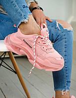 Кроссовки Balenciaga Triple S Clear Sole Triple pink