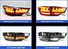 Диодные фонари LED тюнинг оптика Toyota Highlander XU 50 тонированные стиль 2, фото 3