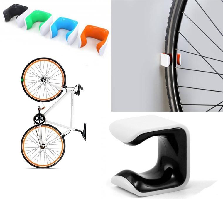 Крепление для шоссейного велосипеда к стене