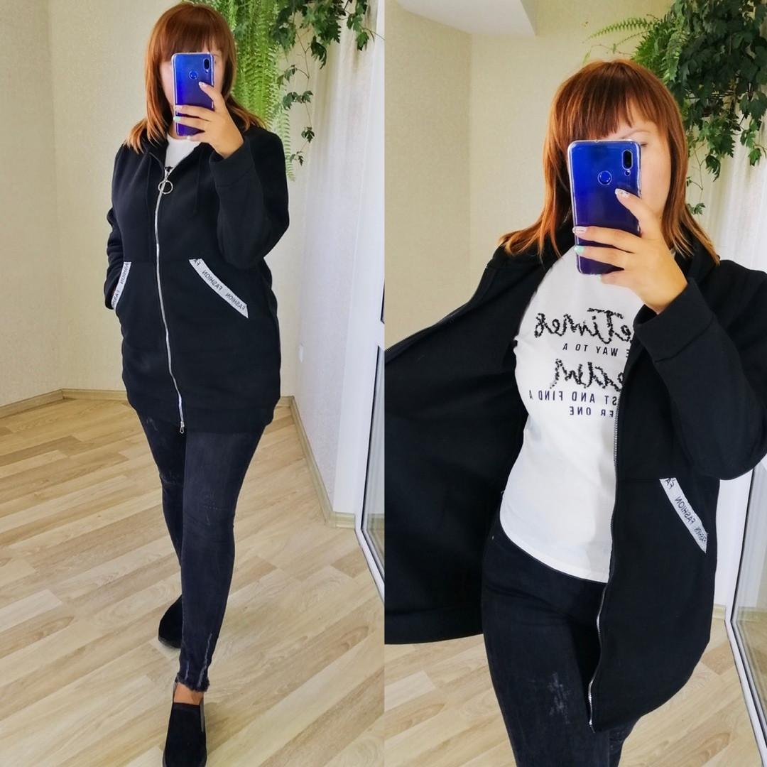 Женский модный кардиган  ХЗ279 (бат)