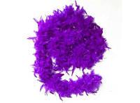 Боа из перьев 40г (фиолетовое)