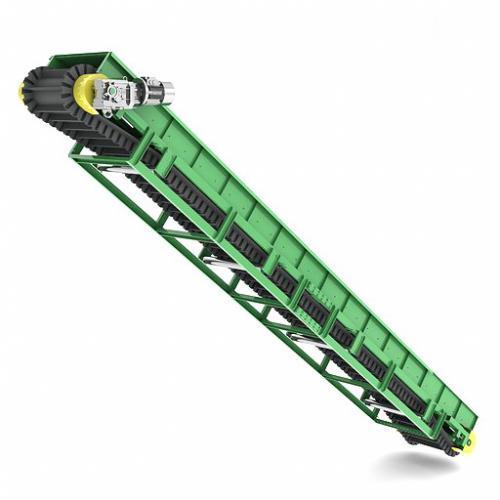 Ленточный транспортер с гофробортами утилизация транспортеров