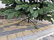 Элитная зеленая 2.1м литая елка искусственная ель литая, фото 5