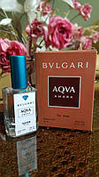 Мужская туалетная вода Bvlgari Aqua Amara (булгари аква амара) pour homme в тестере 50 мл  Diamond (реплика)
