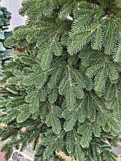 Элитная зеленая 2.1м литая елка искусственная ель литая, фото 3