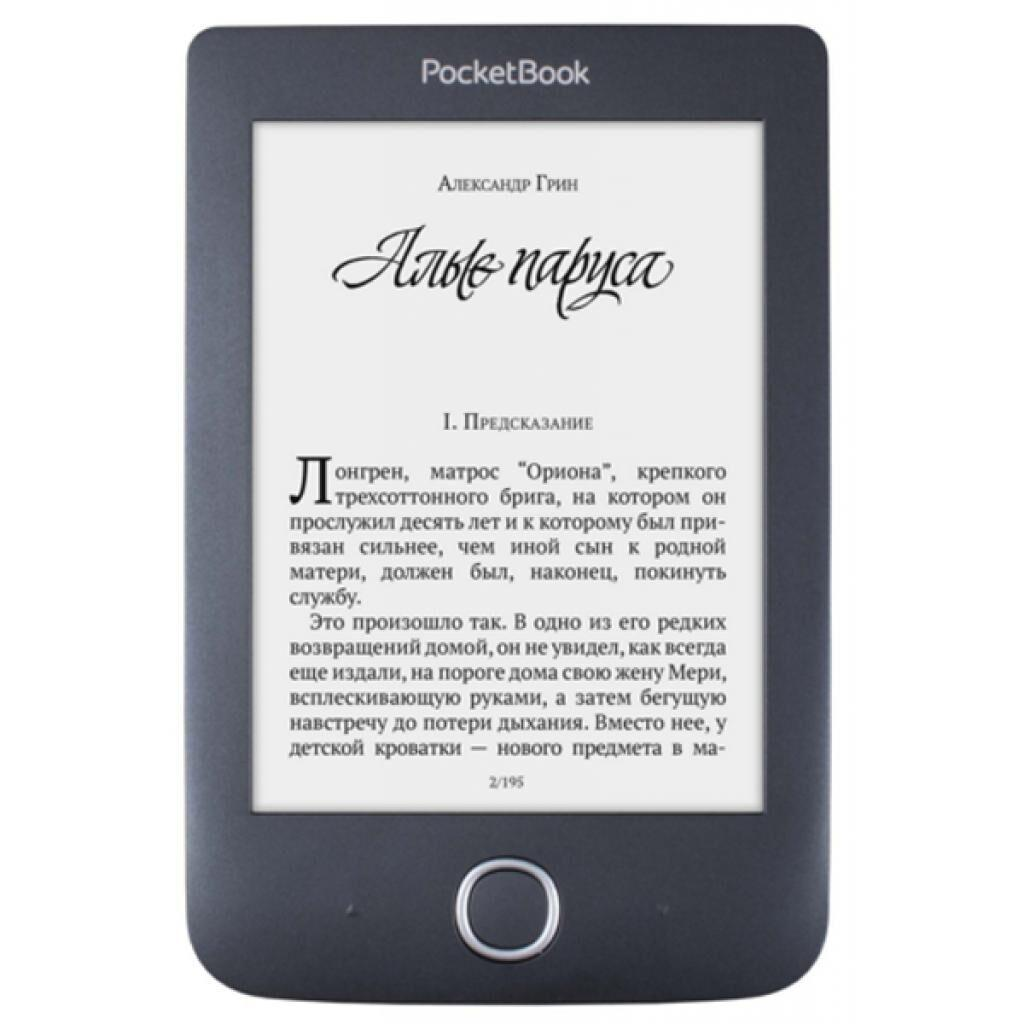 Электронная книга PocketBook 614 Basic 3 Black (PB614-2-E-CIS)