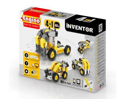 Конструктор INVENTOR 4 в 1 - Строительная техника