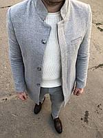 Стильное мужское пальто осень-весна. Размеры  S, M, L, XL, XXL