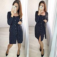 Женское стильное платье  ХЗ285 (норма), фото 1
