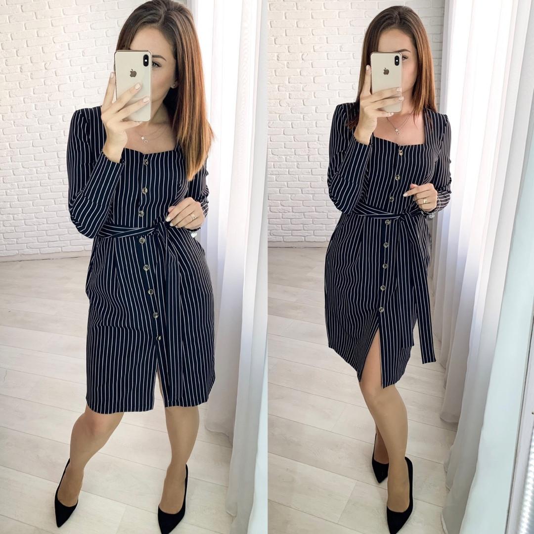 Женское стильное платье  ХЗ285 (норма)