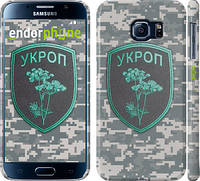 "Чехол на Samsung Galaxy S6 G920 Укроп ""1219c-80"""