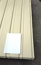 Профнастил  для забора, цвет:  Бежевый ПС-20, 0,35 мм; высота 1.5 метра ширина 1,16 м, фото 3