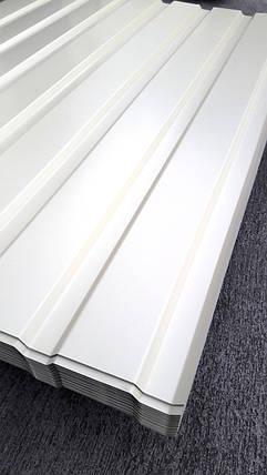 Профнастил для забору, колір: Бежевий ПС-20, 0,35 мм; висота 1.5 метра ширина 1,16 м, фото 2