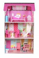 Кукольный домик Резиденция Poziomkowa 106cm дом для кукол барби