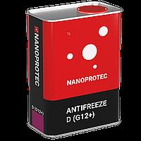 Охлаждающая жидкость NANOPROTEC ANTIFREEZE CONCENTRATE D(G12+) 1л