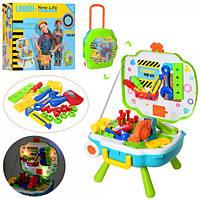 Набор игровой детских инструментов верстак-чемодан L666-23