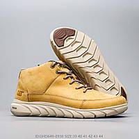 Мужские кожаные демисезонные ботинки CAT CATERPILLAR HENDON. Размер 42, 43, 44, фото 1