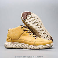 Мужские кожаные зимние ботинки CAT CATERPILLAR HENDON.  42-44 размер