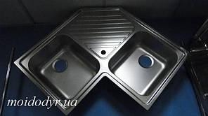 Мийка кутова з нержавіючої сталі Franke (Dominox) PNL 621-E (дефект)