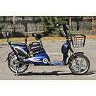 Электрический велосипед ELF-2 синий, фото 2