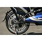Электрический велосипед ELF-2 синий, фото 4