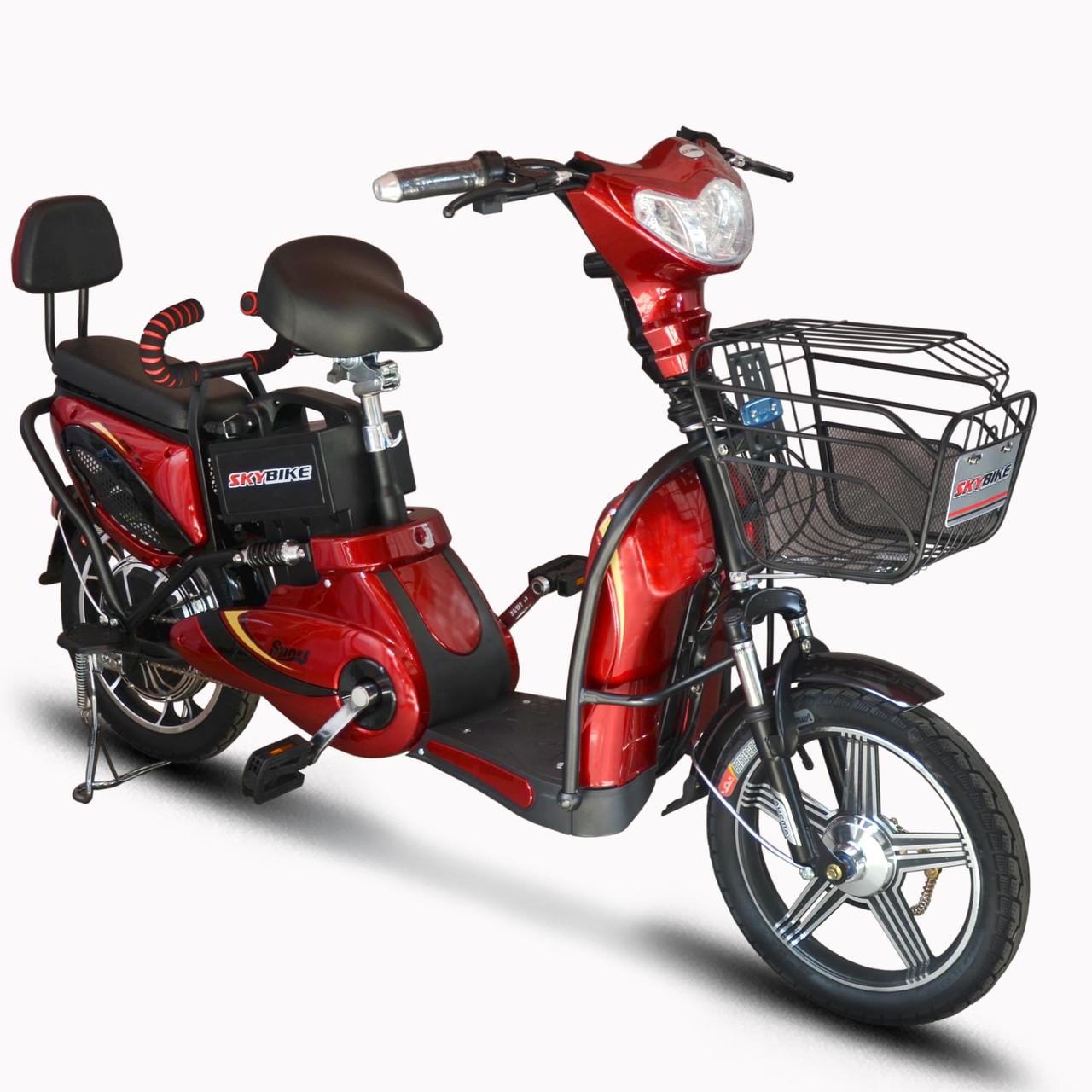 Электрический велосипед ELF-2 фиолетовый