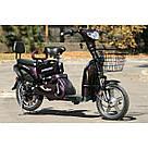 Электрический велосипед ELF-2 фиолетовый, фото 3