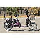 Электрический велосипед ELF-2 фиолетовый, фото 5