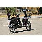Электрический велосипед ELF-2 фиолетовый, фото 9
