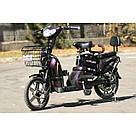Электрический велосипед ELF-2 фиолетовый, фото 10