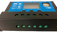 Контроллер заряда солнечный 10А 12/24В JUTA DY1024 с дисплеем и USB, фото 2