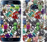 "Чехол на Samsung Galaxy S6 G920 Minecraft 3 ""775c-80"""