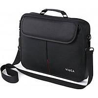 "Сумка для ноутбука Vinga 15.6"" NB201BK black (NB201BK), фото 1"