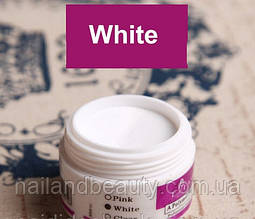 Акриловая пудра EzFlow, 15 гр.  Белая