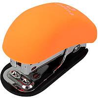 Степлер №24/6 Мини до 12 листов Soft Touch оранжевый