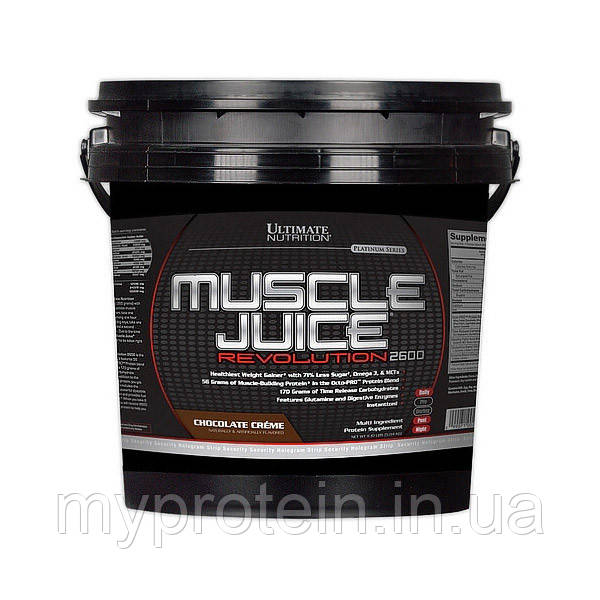 Ultimate Nutrition Гейнер Muscle Juice Revolution (5 kg )