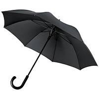 Зонт Антишторм трость Черный