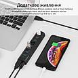 USB Type-C Хаб Promate Smarthub-QC8, фото 5