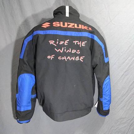 Мотокуртка SUZUKI ORIG бу текстиль, фото 2