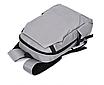 Рюкзак городской Casual Серый с usb выходом, фото 3