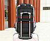Рюкзак городской Casual Серый с usb выходом, фото 9