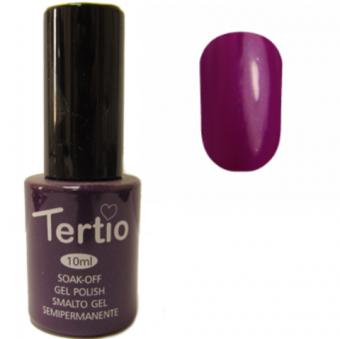 Tertio Гель-лак №079 (темно-фиолетовый с синим микроблеском), 10 мл