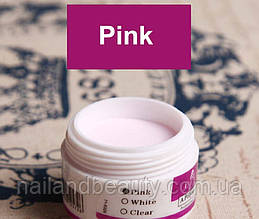 Акриловая пудра EzFlow, 15 гр.  Розовая