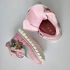 Теплые деми ботинки девочкам, р. 26 (16,5 см), фото 8